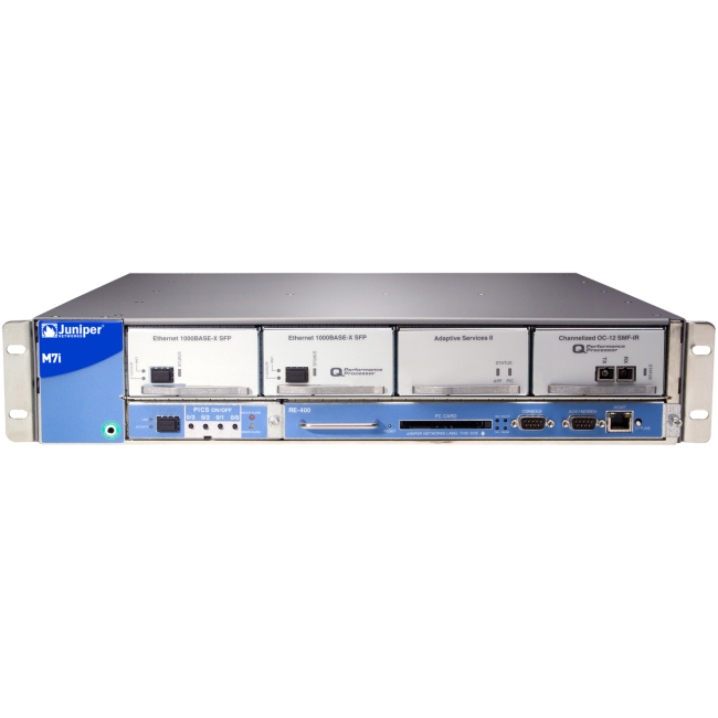 Juniper M7iE-AC-RE400-1GE-B from ICP Networks