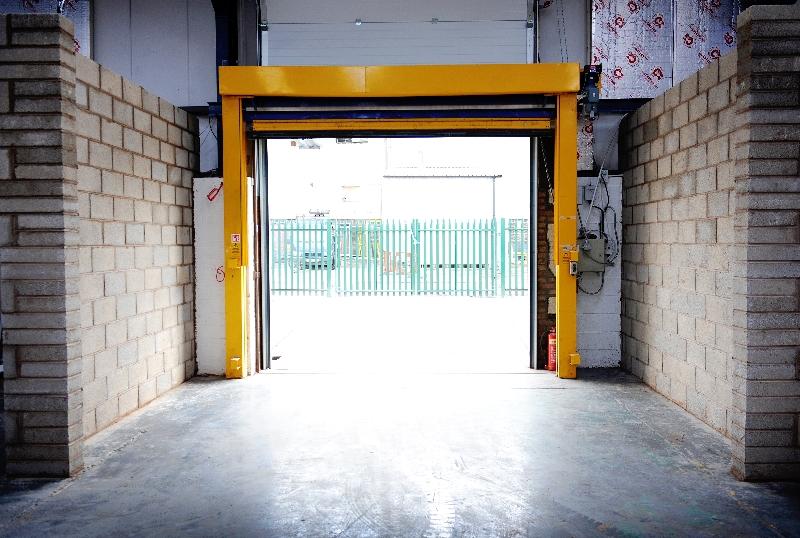 Warehouse door 1