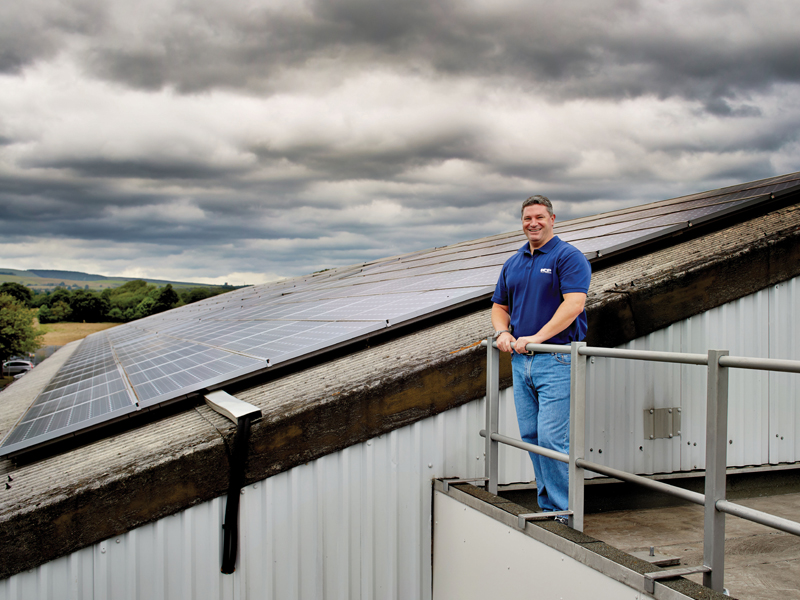 ICP Networks boast the greenest IT HQ in Britain thanks in part to these stunning solar panels