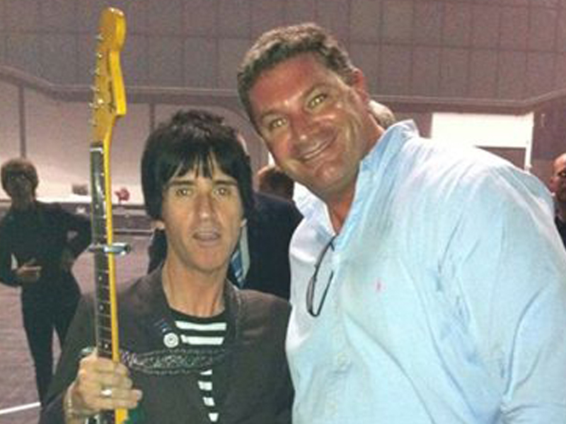 ICP Networks MD Matt Archer and Smiths legend Johnny Marr
