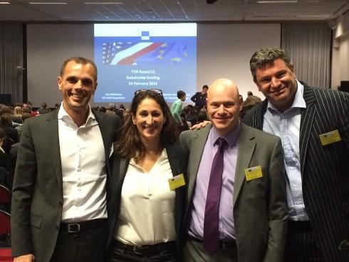 ICP Networks boss Matt Archer in Brussels for TTIP talks